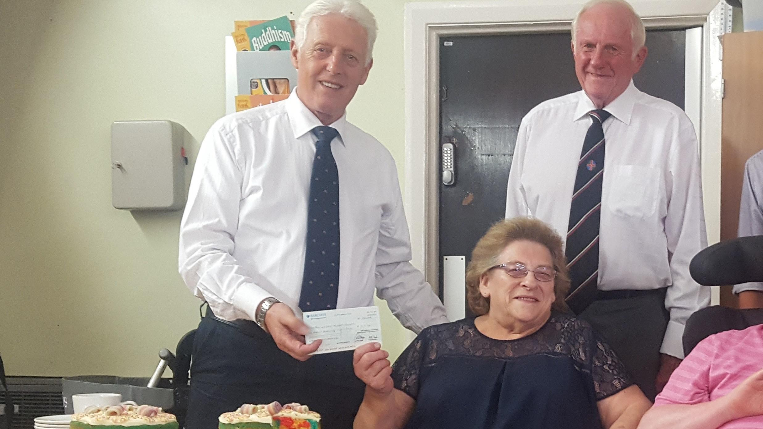 The Grantham Freemasons - Donation
