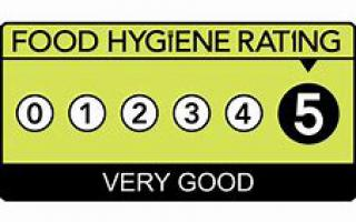 Cree Centre Food Hygiene 5 Stars!